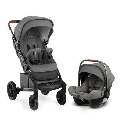 Nuna tavo trvl system™ in Granite with Nuna tavo™ stroller and pipa™ car seat
