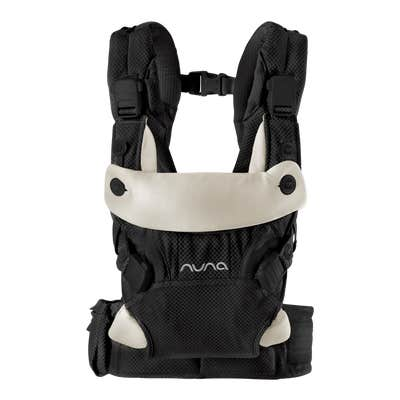 Front view of Nuna cudl™ Baby Carrier in Night