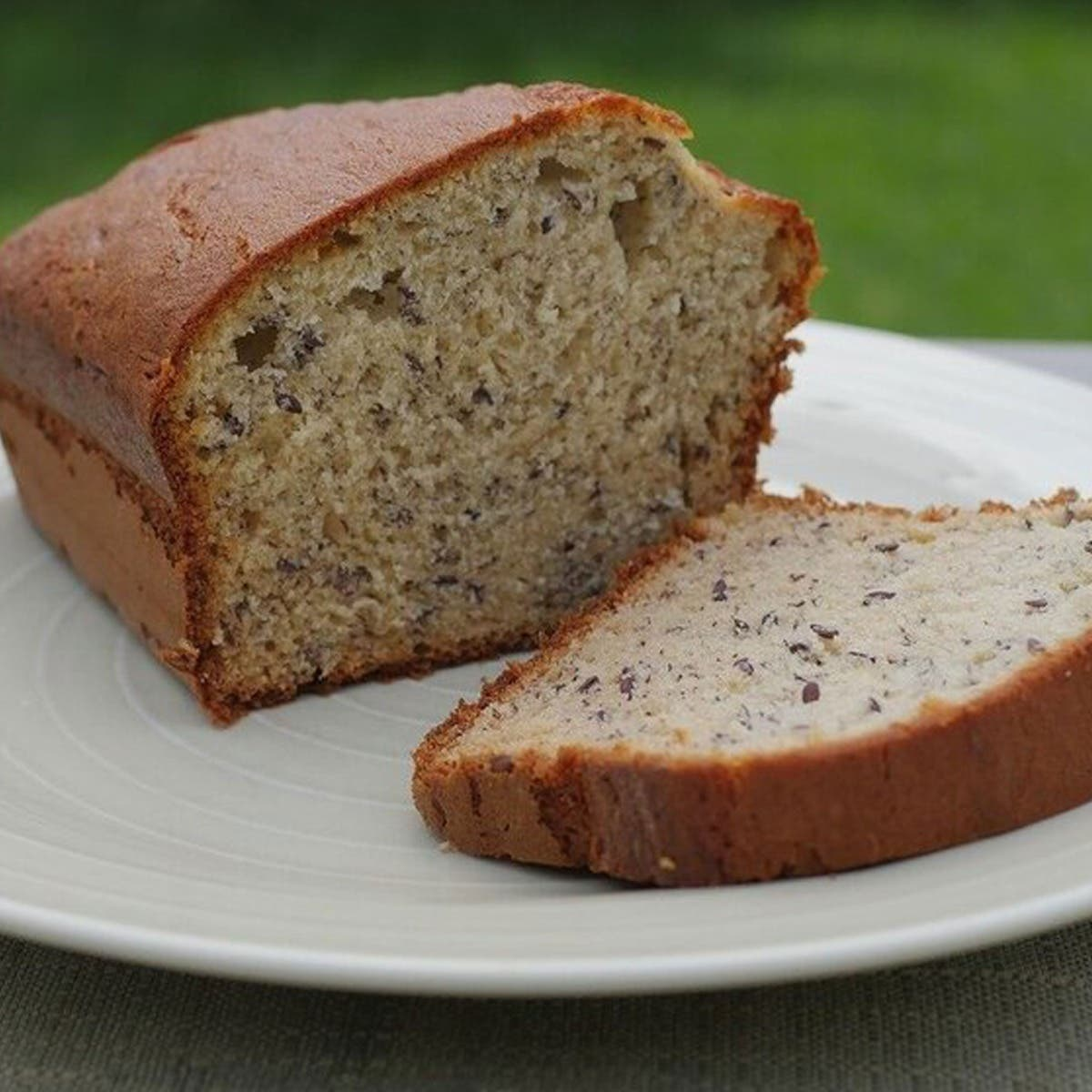 gooey banana bread